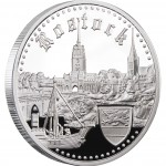 """Silver Coin ROSTOCK 2011 """"Hanseatic Towns"""" Series"""