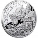 Серебряная монета ЩЕЦИН 2011 серии «Ганзейские Города»