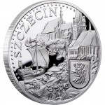 "Silver Coin SZCZECIN 2011 ""Hanseatic Towns"" Series"