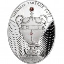 "Silver Coin THE DUCHESS OF MARLBOROUGH EGG 2011 ""Imperial Faberge Eggs"" Series"