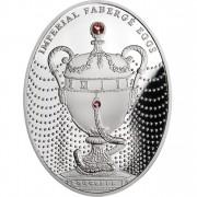 "Silver Coin THE DUCHESS OF MARLBOROUGH EGG 2011 ""Imperial Faberge Eggs"" Series"