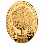 "Gold Coin BAY TREE EGG 2012 ""Imperial Faberge Eggs"" Series"