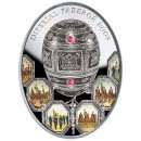 "Silver Coin 100TH ANNIVERSARY OF PATRIOTIC WAR 1812  - NAPOLEONIC EGG 2012 ""Imperial Faberge Eggs"" Series, Niue"