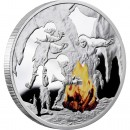 "Silver Coin FIRE 2010 ""Mankind's Crucial Achievements"" Series"