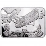 "Silver Coin AEROPLANE 2011 ""How Man Conquered the Skies"" Series"