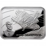 "Silver Coin GLIDER 2010 ""How Man Conquered the Skies"" Series"