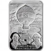 """Silver Coin BALLOON 2010 """"How Man Conquered the Skies"""" Series"""