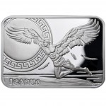 "Silver Coin ICARUS 2010 ""How Man Conquered the Skies"" Series"