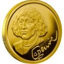 Gold Coin NICOLAUS COPERNICUS 2010