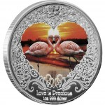 Silver Coin LOVE IS PRECIOUS 2011