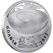 "Silver Coin GDANSK 2010 ""Polish Stadiums 2012"" Series"