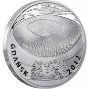 "Silver Coin GDANSK 2010 ""Polish Stadiums 2012"" Series"