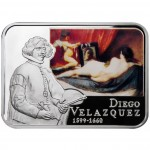 """Silver Coin DIEGO VELAZQUEZ 2011 """"Painters of the World"""" Series"""