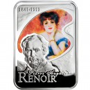"Silver Coin PIERRE AUGUSTE RENOIR 2008 ""Painters of the World"" Series"