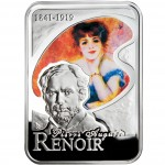"""Silver Coin PIERRE AUGUSTE RENOIR 2008 """"Painters of the World"""" Series"""