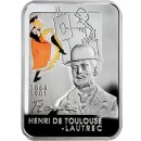 "Silver Coin HENRY DE TOULOUSE-LAUTREC 2008 ""Painters of the World"" Series"