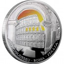"Silver Coin ROMAN COLOSSEUM 2009 ""Wonders of the World"" Series"