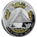 "Silver Coin CHICHÈN ITZÀ 2009 ""Wonders of the World"" Series"