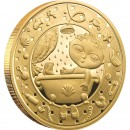 "Gold Coin AQUARIUS 2011 ""Zodiac Signs-Belarus"" Series"