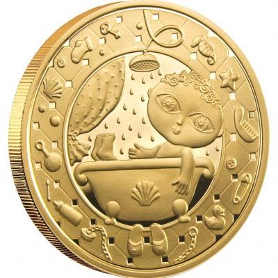 "Gold Coin AQUARIUS 2011 ""Zodiac Signs-Belarus"" Series"