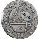 "Silver Coin AQUARIUS 2009 ""Zodiac Signs-Belarus"" Series"
