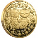 "Gold Coin GEMINI 2011 ""Zodiac Signs-Belarus"" Series"