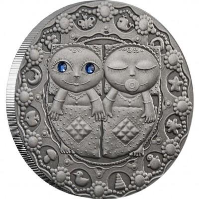 "Silver Coin GEMINI 2009 ""Zodiac Signs-Belarus"" Series"