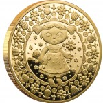 "Gold Coin VIRGO 2011 ""Zodiac Signs-Belarus"" Series"