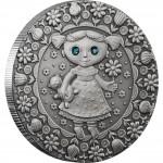 "Silver Coin VIRGO 2009 ""Zodiac Signs-Belarus"" Series"