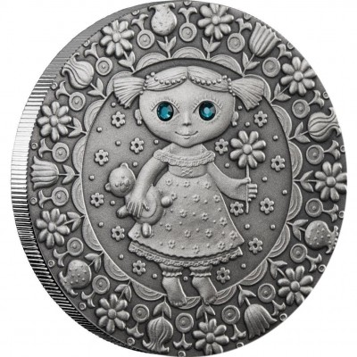 "Silver Coin VIRGO 2009 ""Zodiac Signs-Belarus"" Series"
