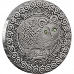 "Silver Coin ARIES 2009 ""Zodiac Signs-Belarus"" Series"