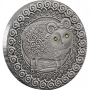 "Silver Coin ARIES 2009 ""Zodiac Signs-Belarus"" Series"