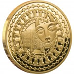 "Gold Coin TAURUS 2011 ""Zodiac Signs-Belarus"" Series"