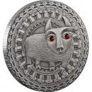 """Silver Coin TAURUS 2009 """"Zodiac Signs-Belarus"""" Series"""