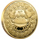 "Gold Coin CANCER 2011 ""Zodiac Signs-Belarus"" Series"