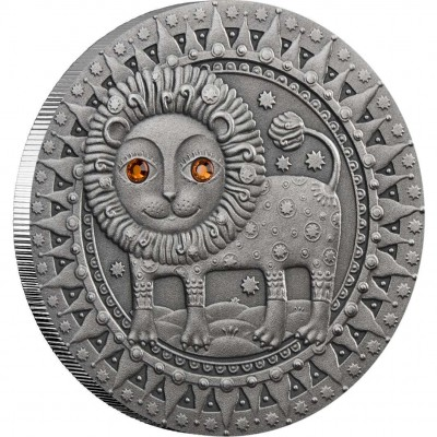 "Silver Coin LEO 2009 ""Zodiac Signs-Belarus"" Series"