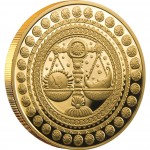 "Gold Coin LIBRA 2011 ""Zodiac Signs-Belarus"" Series"