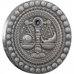 Серебряная монета ВЕСЫ 2009 серии «Знаки Зодиака- Беларусь»