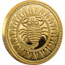 "Gold Coin SCORPIO 2011 ""Zodiac Signs-Belarus"" Series"