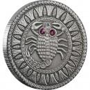 "Silver Coin SCORPIO 2009 ""Zodiac Signs-Belarus"" Series"