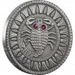 Серебряная монета СКОРПИОН 2009 серии «Знаки Зодиака- Беларусь»
