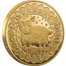 "Gold Coin CAPRICORN 2011 ""Zodiac Signs-Belarus"" Series"