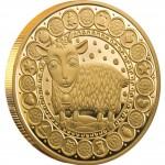 "Gold Coin CAPRICORN 2011 ""Zodiac Signs-Belarus"" Series"