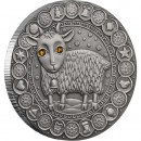 "Silver Coin CAPRICORN 2009 ""Zodiac Signs-Belarus"" Series"