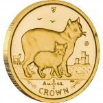 Gold Bullion Coin Manx Cat 2012 Cats Series - 1/2 oz