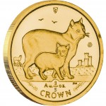Gold Bullion Coin Manx Cat 2012 Cats Series - 1/5 oz