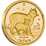 Gold Bullion Coin Manx Cat 2012 Cats Series - 1/5 oz