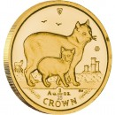 Gold Bullion Coin Manx Cat 2012 Cats Series - 1/25 oz