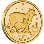 Gold Bullion Coin Manx Cat 2012 Cats Series - 1/25 oz
