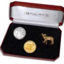 """Cats"" Series Two Silver and Gold Coin Set 1988, 2012"